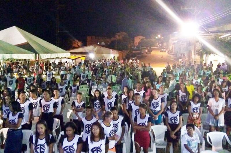 O distrito de Mundo Novo, sediou no fim de semana o 1º Congresso de Jovens do Campo 21